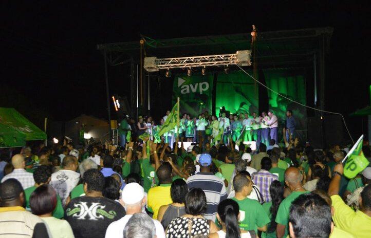 Evento grandi y exitoso di partido AVP na Savaneta