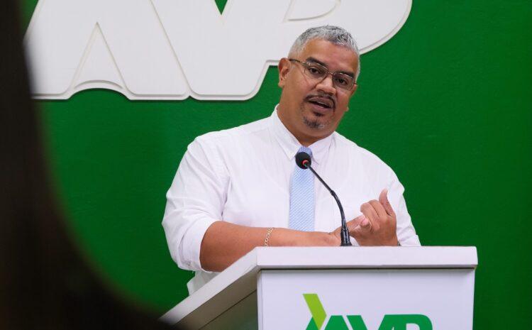 Robert Candelaria (AVP): No ta momento pa experimenta cu partido sin experiencia