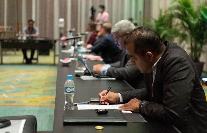 AVP a brainstorm cu hobennan profesional riba recuperacion di Aruba