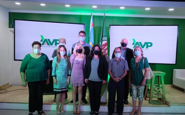 Partido AVP a presenta un candidato nobo den nomber di drs. Sharon Erasmus van der Linden