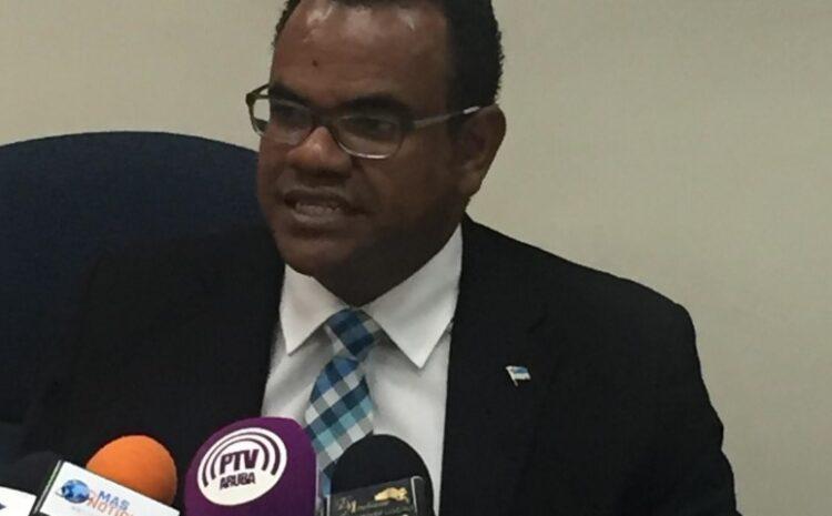 Den dos luna di gobernacion Minister Oduber a pidi 12 miyon caba