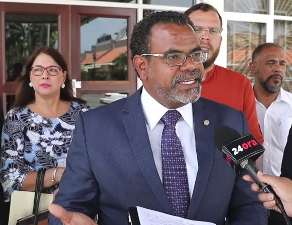 Gabinete MEP-POR-RED culpabel di desaster den Scol Practico pa Ofishi