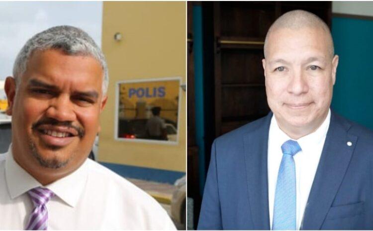 Minister Andin Bikker a cambia tres altocomisario den tres aña