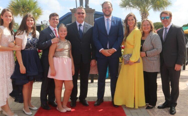 Michael Lampe: Celebracion nacional recordando Betico Croes