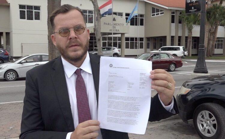Carta di Caft a keda wanta pa President di Parlamento